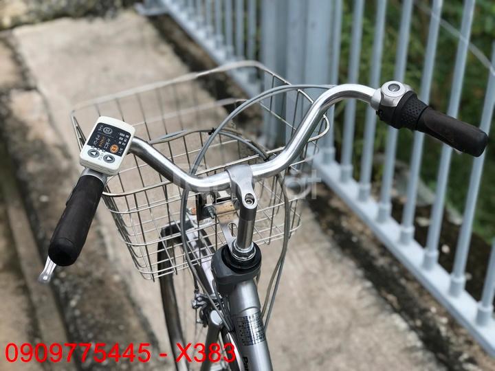 X383: Xe đạp điện trợ lực Panasonic hàng Nhật bãi