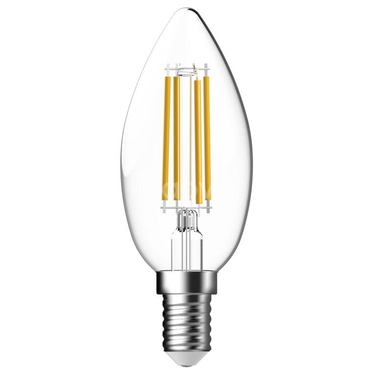 Bóng led filament dạng nến 5.3W ánh sáng vàng