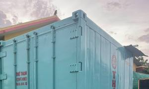 Container lạnh 10 feet máy THERMOKING