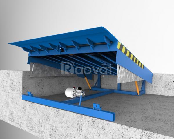 Sàn nâng thủy lực kết nối hạ hàng - sàn nâng Doc Leveler