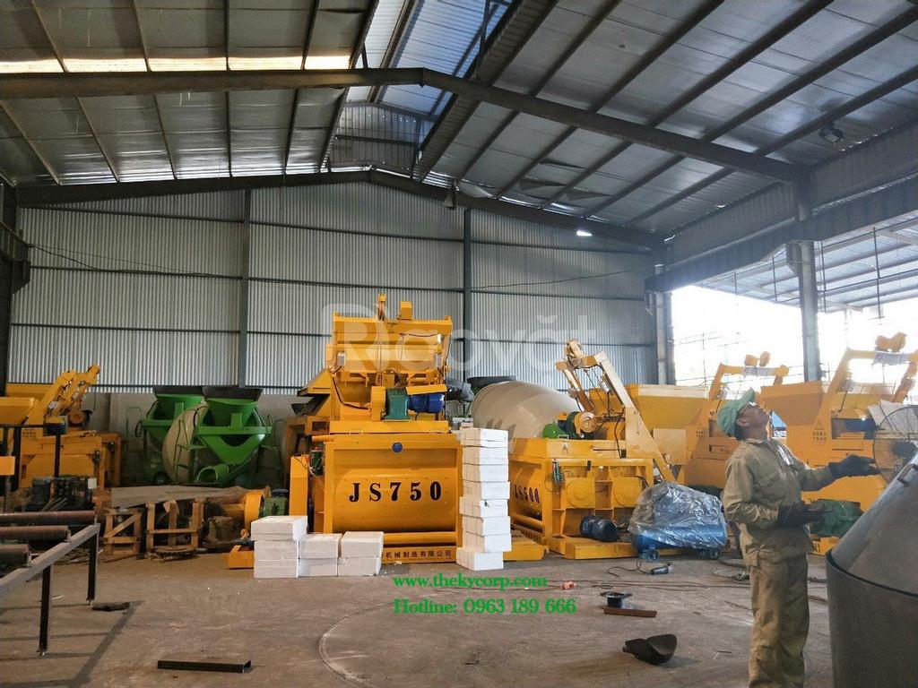 Máy trộn bê tông JS500 nhập khẩu