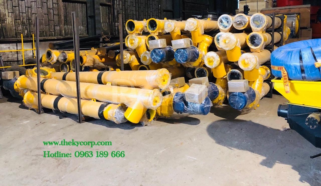 Vít tải xi măng LSY 6m, 9m cho trạm trộn bê tông