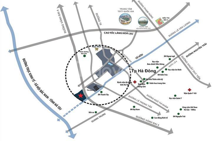 Căn góc biệt thự Dương Nội Hà Đông diện tích 250m đất đường 25m