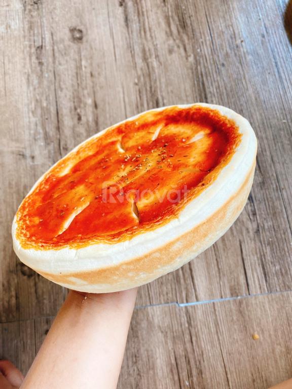 Pizza nhân nhồi chicago, pizza tươi nướng lò củi tìm đại lý phân phối