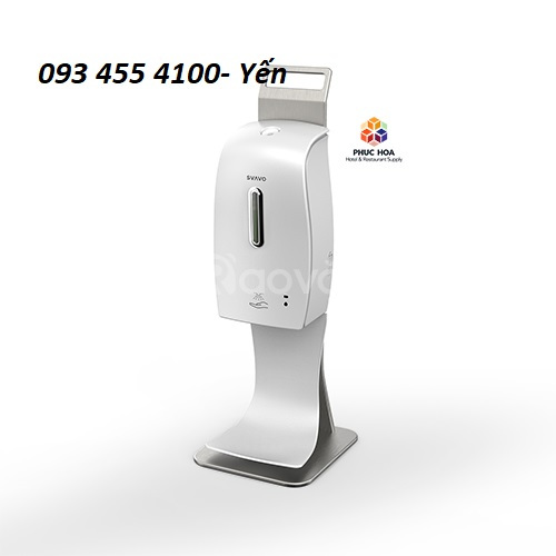 Máy xịt nước rửa tay cảm ứng, máy xịt dung dịch cồn tự động giá rẻ!