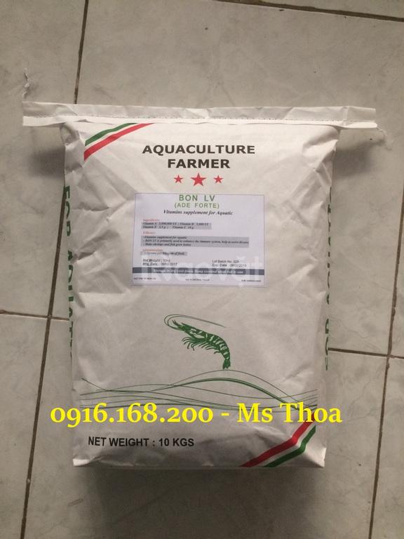 Bon LV, Vitamin tổng hợp ADE cần thiết cho tôm cá
