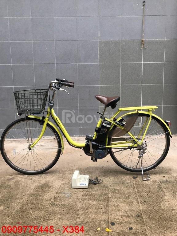 Xe đạp điện trợ lực X384 Panasonic hàng Nhật bãi