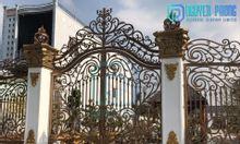 Dịch vụ thiết kế gia công lắp đặt cổng sắt CNC đẹp hiện đại
