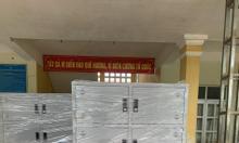 Tủ sắt 10 ngăn đựng hồ sơ tài liệu giá tốt