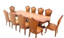 Bộ bàn ăn tân cổ điển của nội thất gỗ Phương Đông