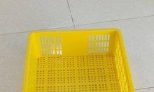 Sọt cao 1T5, sọt nhựa cao 15cm, sọt nhựa HS008, sóng nhựa hở