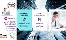 Nhận xin giấy phép kinh doanh, đầu tư, visa, nhập cảnh giá tốt