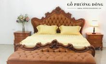 BST giường ngủ bọc nệm của Gỗ Phương Đông
