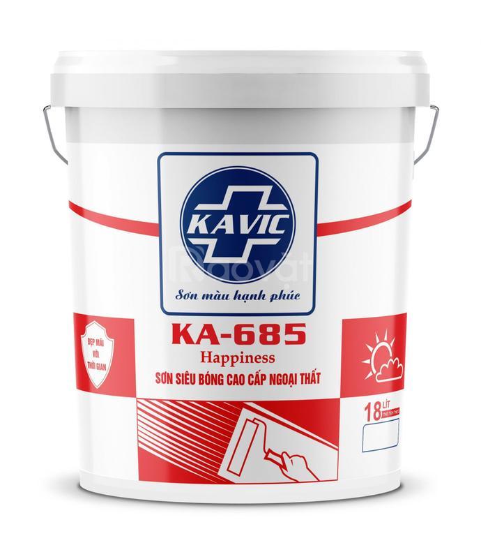 Sơn Kavic siêu bóng cao cấp ngoại thất KA-685