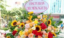 Hoa khai trương giá rẻ miễn phí giao hoa tận nơi