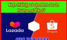 Nhận thiết lập và vận hành các sàn thương mại điện tử
