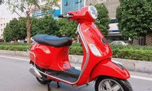Vespa Lx 125ie màu đỏ chế điện tử tiết kiệm xăng biển HN