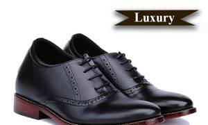 LUXURY SHOES S1034 - Giày nam cao cấp đế da