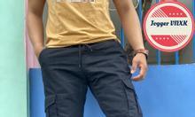 Jogger nam năng động, kaki cao cấp