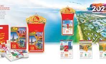 Mẫu lịch bloc đặc biệt 2022 - Việt Nam thịnh vượng