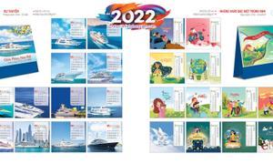 In lịch để bàn văn phòng 2022 giá rẻ