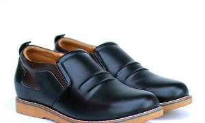 Giày lười da nam cao cấp T60, cao 5cm, giá tốt