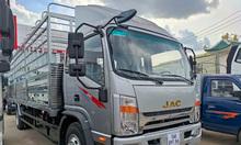 Xe tải Jac N800 thùng mui bạt dài  7m6 động cơ Cummins 2021