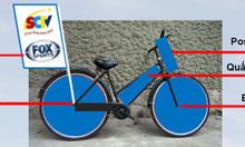 Dịch vụ trang trí xe đạp roadshow TP HCM và các tỉnh thành