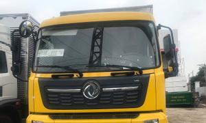Xe tải DongFeng B180 tải 7T5 thùng kín dài 9m7