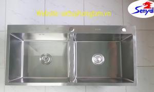 Bồn rửa chén inox 304, KT 100x50 cm, thiết bị vệ sinh Senyal