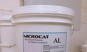 MICROCAT AL vi sinh bột xủ lý đáy ao, giảm tảo