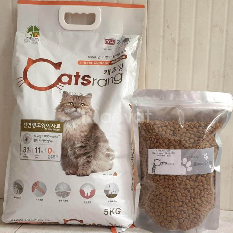 Hạt Catsrang cho mèo