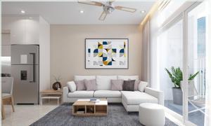 Thiết kế thi công nội thất phòng khách và 3 phòng ngủ