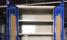Tủ dụng cụ 2 cánh 5 ngăn công nghiệp, gia công tủ theo yêu cầu