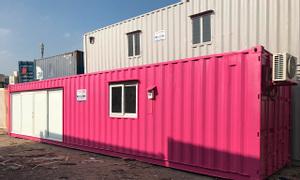 Mua bán cho thuê container văn phòng 20 feet 40 feet tại Hà Nội