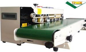Máy hàn miệng túi liên tục TPFRD 770, máy chất, giá rẻ