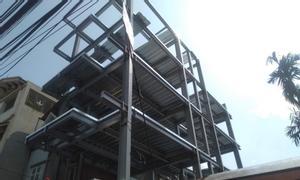 Xây dựng nhà phố kết cấu khung thép