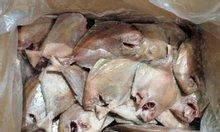 Cân bán cá chim đen làm sạch