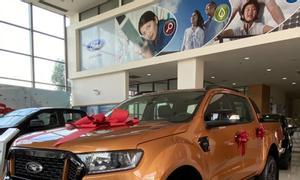 Ford Ranger 2021 ưu đãi tốt, xe đủ màu, giao ngay