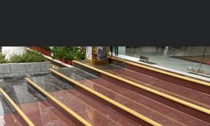 Thi công lắp đặt đá hoa cương đỏ Ấn Độ đẹp giá rẻ tại Tp.HCM