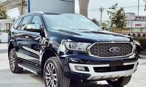 Ford Everest 2021, liên hệ để nhận giá tốt, xe đủ màu giao ngay