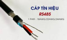 Cáp tín hiệu RS485 1 pair 18AWG hai lớp chống nhiễu