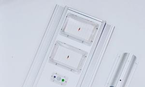 Đèn đường liền thể năng lượng mặt trời MK-B66100, 100W