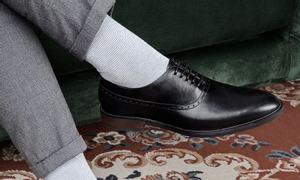 Giày tây nam kiểu dáng Oxford Brogue mã GNLA6318-D hiệu Laforce