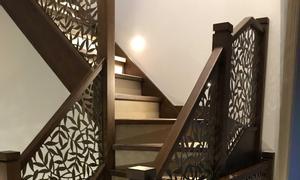 Cầu thang sắt cnc giải pháp tiết kiệm không gian