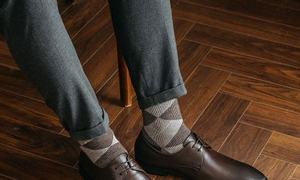 Giày tây buộc dây Plain Toe Derby mã GNLA0205-N hiệu Laforce