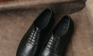 Giày tây nam kiểu dáng Oxford Brogues mã GNLALW678-D hiệu Laforce