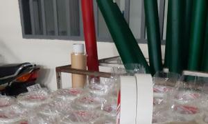 Băng keo 2 mặt vàng dầu giá sỉ tại xưởng sản xuất