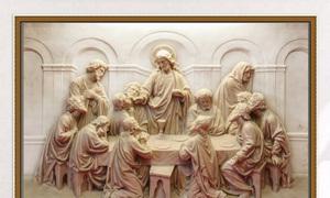 Tranh gạch men - gạch 3D công giáo đẹp - AN76