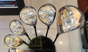 Bộ gậy golf Katana Sword new gold